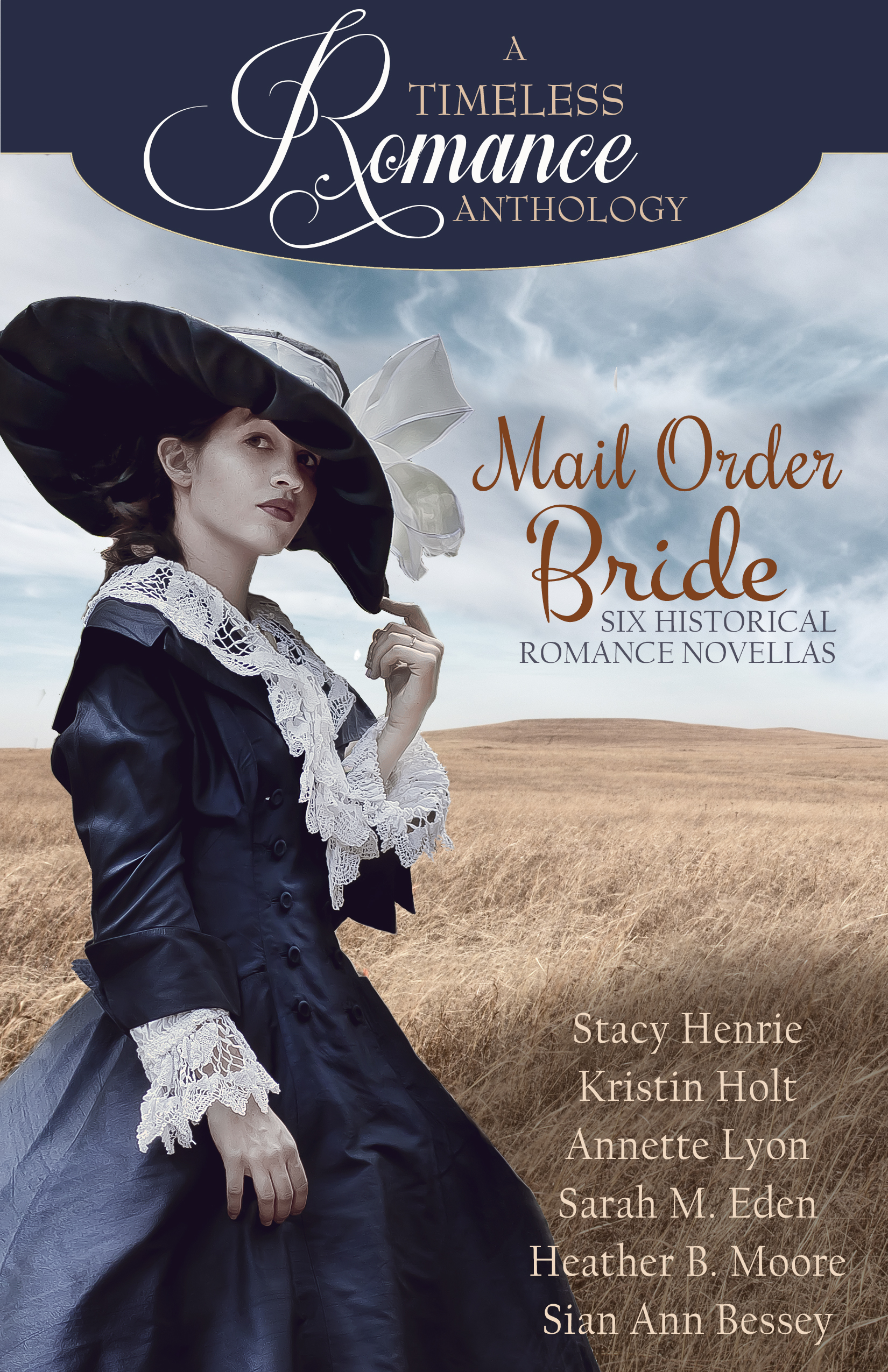 Kristin Holt | Book Cover of Mail Order Bride Collection: A Timeless Romance Anthology