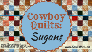 Kristin Holt | Book Description: Pleasance's First Love -- Cowboy Quilts: Sugans