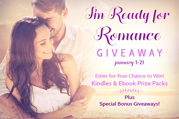 I'M READY FOR ROMANCE GIVEAWAY