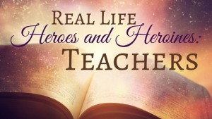 "Kristin Holt | ""Real Life Heroes and Heroines: Teachers"" by USA Today Bestselling Author Kristin Holt."