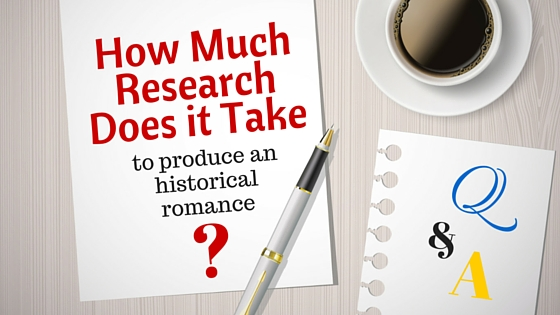 Kristin Holt | How Much Research Does it Take to produce an historical romance?