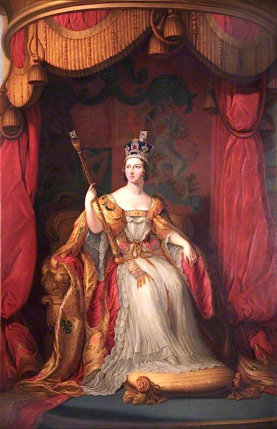 Kristin Holt | Victorian Era: The American West. Image: Painting of Queen Victoria in Coronation Robes