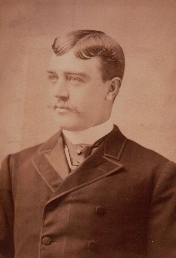 Kristin Holt | Photographic Inspiration. Vintage Victorian Photograph of Unidentified Handsome Man, probably 1890s