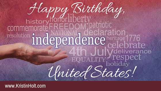 Happy Birthday, United States!