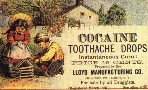 Cocaine Toothache Drops