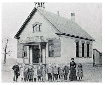 Kristin Holt   Education in the Old West. Image: Cool old school house, 1878. Courtesy of Pinterest.