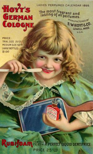 Vintage Dental Ad Rubifoam