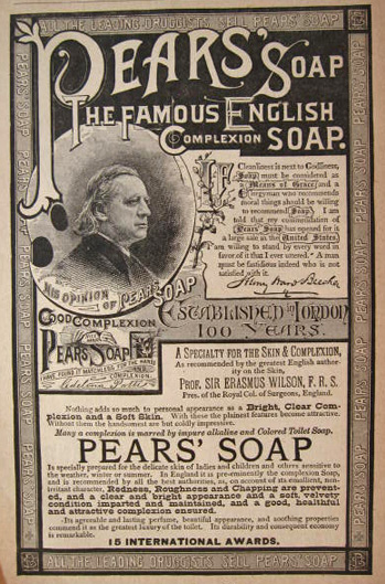 Celebrity Endorsement of Pears' Soap by Henry Ward Beecher.