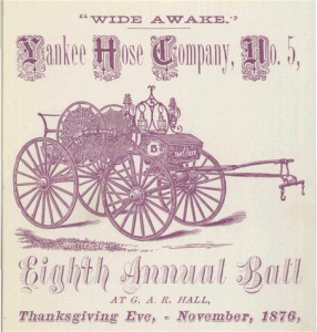 1876 Yankee Thanksgiving, Worcester, Mass. [Image: Public Domain]
