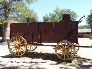 Wagon from Columbia State Park