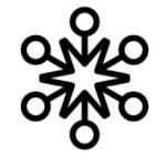 round tip snowflake