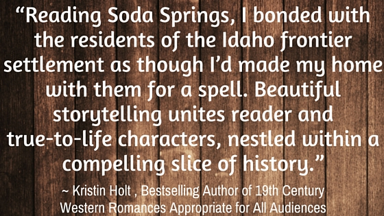 Endorsement of Soda Springs