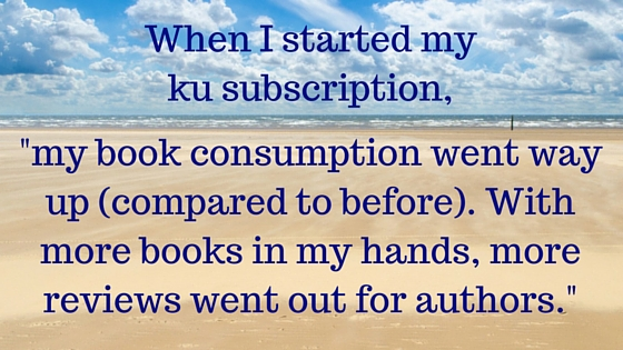 When I started my ku subscription,