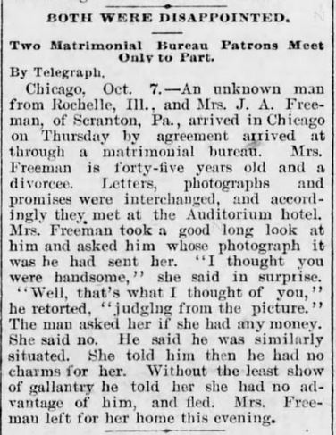 The Harrisburg Daily Independent. 7 October,1895, pg 1