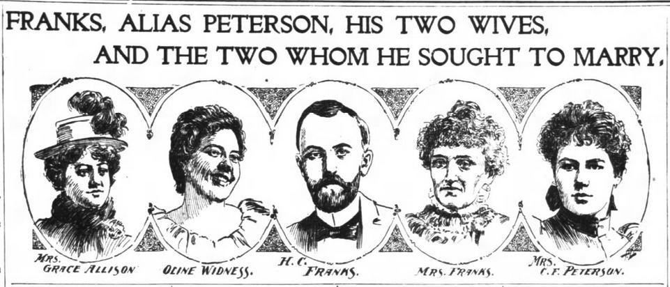 San Francisco Chronicle, 29 January 1899. Image included with article header.