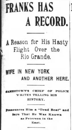 San Francisco Chronicle. 29 January, 1899. Part 2 of 10.