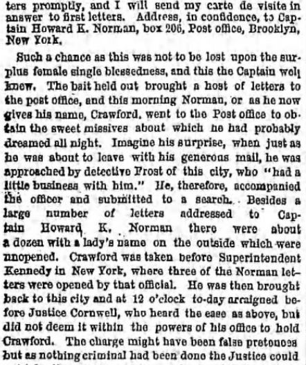 The Brooklyn Daily Eagle. Brooklyn NY. 10 May 1865. Part 2 of 6.