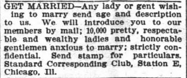 Standard Corresponding Club. The Atlanta Constitution. 29 Jul 1900