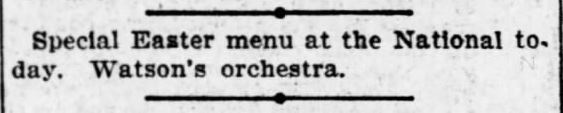 The Topeka Daily Capital, Topeka, Kansas, 7 April 1901.
