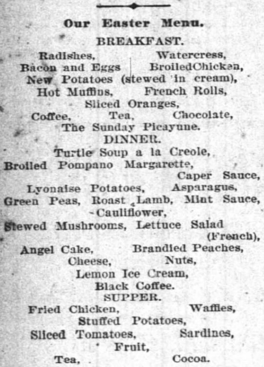 The Times-Picayune. New Orleans, Louisiana, 25 March 1894.
