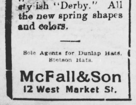 Easter Neckware Ad. Part 2. The York Daily. York PA. 18 Apr 1898 ADJUSTED