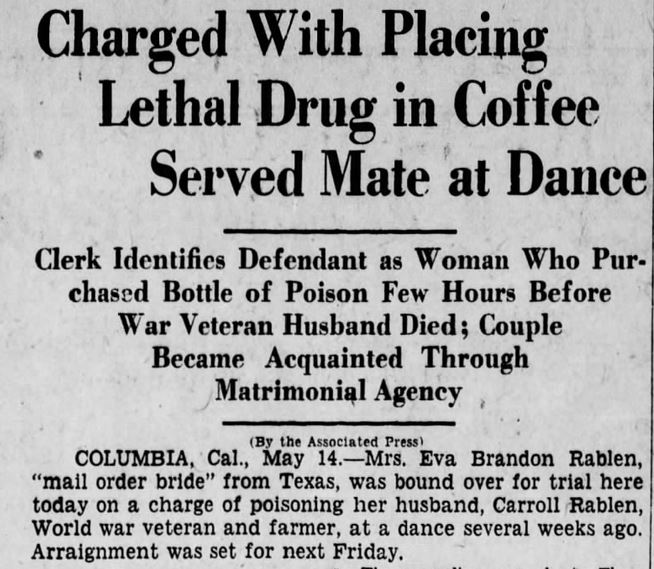 The Scranton Republican, 15 May, 1929.