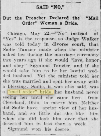 FIRST USES of MOB. LIGHTENED 23 May 1906. The Evening Star. Independence KS