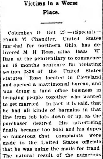 The Lima News. Lima OH. 25 October 1902. Part 2.