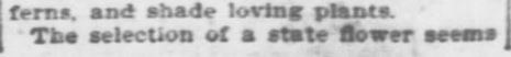 Arbor Day. Part 6. The Topeka Daily Capital. Topeka KS. 22 April 1896