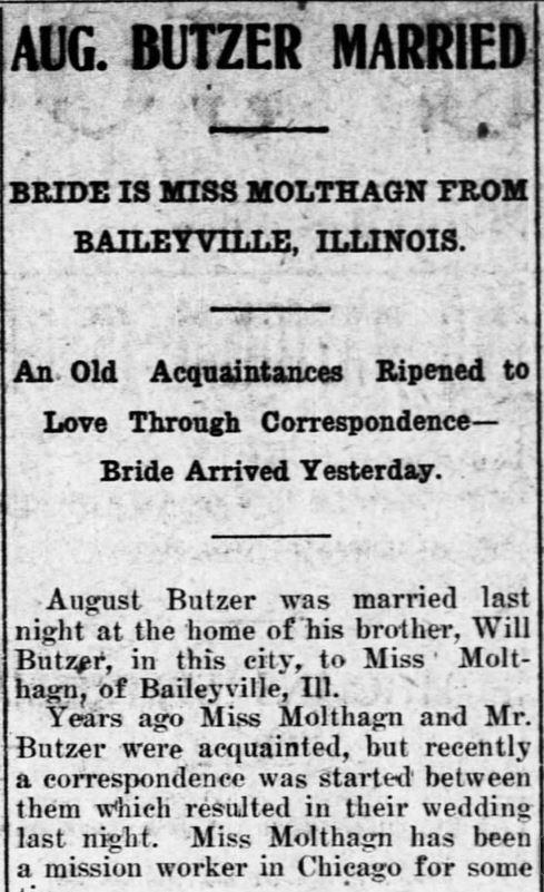 8 November, 1905. The Salina Evening Journal. Salina, Kansas. Part 1.