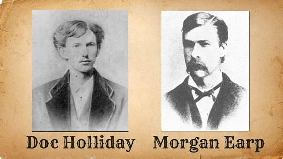 Doc Holliday and Morgan Earp Image