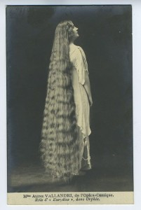 """Edwardian Rapunzel"" from Flicker and Pinterest. Shared in L-O-N-G Victorian Hair by Author Kristin Holt."