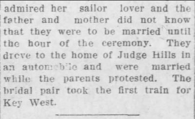 Part 2. The Leavenworth Post of Leavenworth, Kansas on 15 September, 1910.