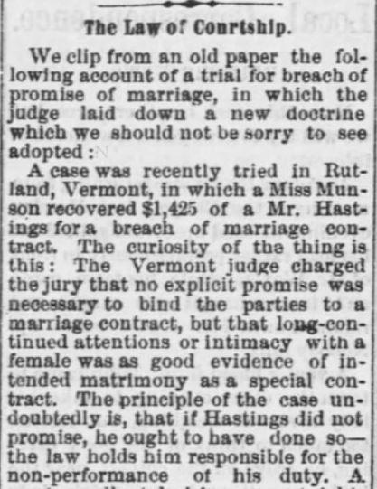 Part 1. The Tiffin Tribune of Tiffin, Ohio, 22 January, 1874.