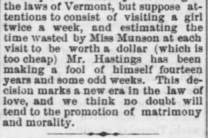 Part 3. The Tiffin Tribune of Tiffin, Ohio, 22 January, 1874.