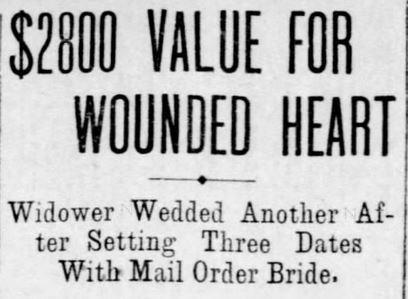 St. Louis Dispatch, St. Louis, Missouri, 25 February, 1906.