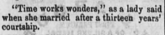 Fort Wayne Daily Gazette, Ft Wayne, Indiana. 21 October, 1868.