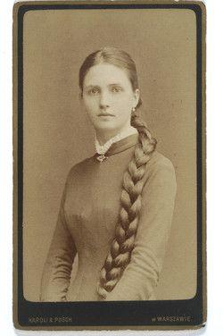 Kristin Holt | L-O-N-G Victorian Hair. Izabella Potocka Lwow, circa 1880.