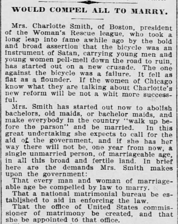 The Saint Paul Globe of St. Paul, Minnesota. 9 January, 1898.