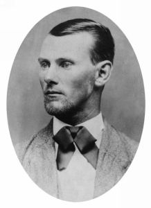 Jesse James in the 1880s, from