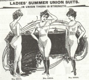 Ladies Summer Union Suits. 1897 Sears