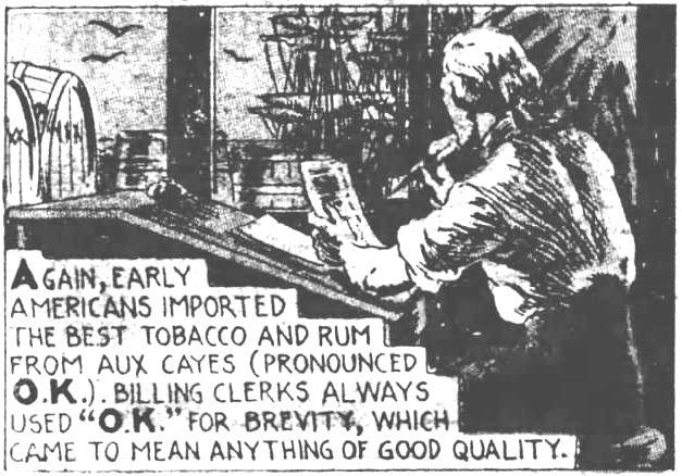 corrected How it Began. part 7. The Evening News. Harrisburg PA. 21 Dec 1935
