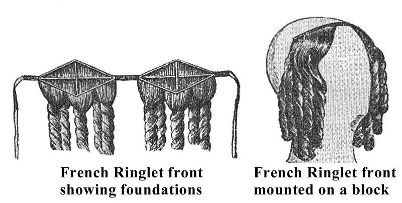 Esther M. Zimmer Lederberg French Ringlet Front