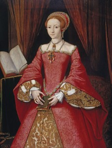 The Lady Elizabeth in about 1546, by an unknown artist (When Elizabeth I was a Princess) [Image: Public Domain, courtesy of Wikipedia}