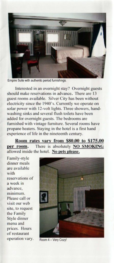 Hotel Pamphlet, Page 2