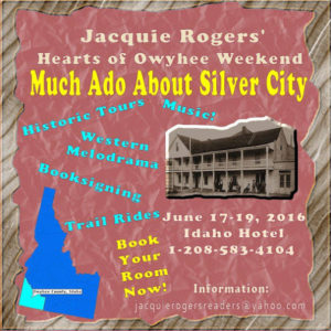 Jacquie Rogers's MUCH ADO ABOUT SILVER CITY event held in the historic ghost town, June 17-19, 2016. Image: courtesy of Jacquie Rogers.