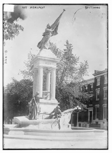 Key Monument in Baltimore MD. Public Domain