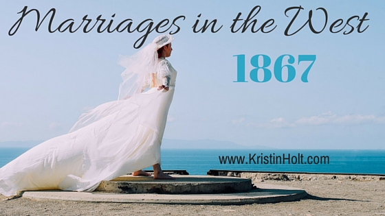 Kristin Holt | Marriages in the West