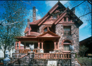 Molly Brown House Exterior.