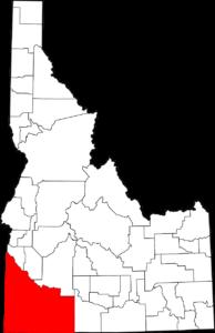 Owyhee County, Idaho (south-east corner). [Image: Public Domain, courtesy of Wikipedia]